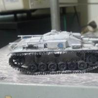 III号突撃砲F型(カバさんチーム仕様)制作日記その4 我が塗装(パクリ)