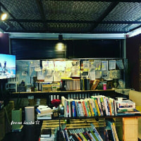 ネコちゃんを探せ!🐱  クォン・サンウ チェ・ガンヒ『推理の女王』cafeknock地下の撮影セット場で・・(^▽^;)