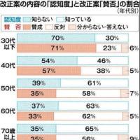 東京都知事選に不正があったか否か。この機械的な得票数がすべてを物語っているのではないか (付)共謀罪の意識調査