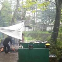 雨でも楽しいひるがのキャンプ