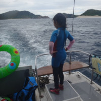 2016年8月 子連れ座間味ダイビング旅行記 その7…2日目のお昼休み~3本目へ