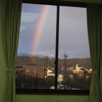 虹が・・・