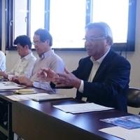 中丹東土木事務所と市議有志の意見交換会
