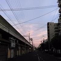 本日は東住吉区田辺・浪速区今宮戎・新世界上空壮絶地震雲。