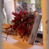 八重咲きのパンジー「フェアリーチュール」 +アレンジメント
