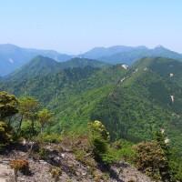 宮指路岳(946m)→仙ヶ岳(961m)を周回 ~鈴鹿有数の難コースを踏破~