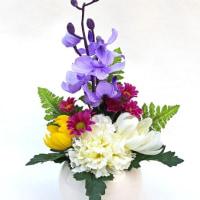 仏花のアレンジメント