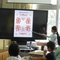 6月26日の続き・健康委員会による歯磨き指導