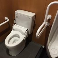 伯備線根雨駅のトイレが新設されてました。