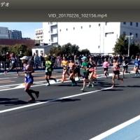 東京マラソンをみる