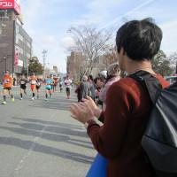 防府読売マラソン 応援に行って来ました