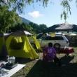 西湖へキャンプに行ってきました
