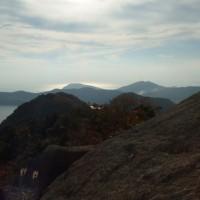 晩秋の小浜山頂