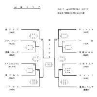 第46回全国ママさんバレーボール大会愛知県予選結果