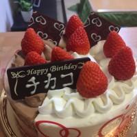 誕生日です。