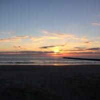 日の出 とともに