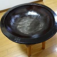 こね鉢の修理