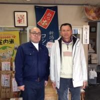 長野県東御市御牧原から「お米の生産者 武井さん」がご来店
