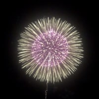 秋の江ノ島花火大会(10月15日)、綺麗でした〜♫