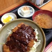味噌カツ丼 690円