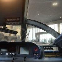 京都鉄道博物館におけるハイウェイバスの展示