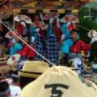 秩父川瀬まつりの屋台と笠鉾の巡行に同行しました