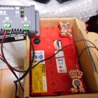 オフグリッドソーラー弐号機のバッテリー変更