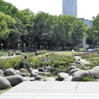 大阪のオアシス靭公園