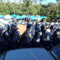 暴力につぐ暴力で強行された高江の強制排除。