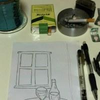 深夜のお絵描き。3