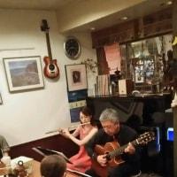 江口鮎美&経麻朗カミフルジャズナイト ありがとうございました。
