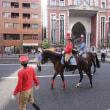 田町不動産と騎馬(三田納涼カーニバル)