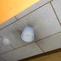 LED照明器具を取り付け