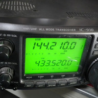 ICOM IC-910D 改造②