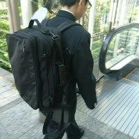 機能性に優れたバッグ