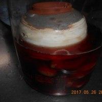 新ショウガの梅酢漬け 梅酢での下漬け 作戦変更