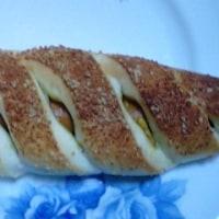 カレーソースのウインナースティックなパンで深夜食して明日の準備:D