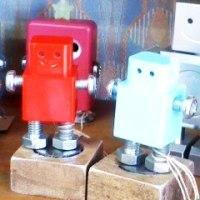ロボットくんとクリスマスカード