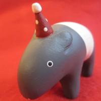 ♪♪ クリスマスぽれぽれ動物 バク...