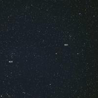 散開星団NGC2567とNGC2571