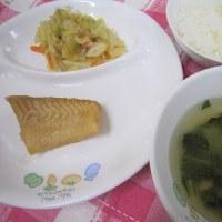 煮魚(真ガレイ)
