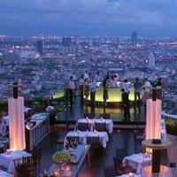 タイへ来たら ルーフトップバーへ行ってみて!