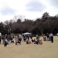 浜松城公園で大道芸