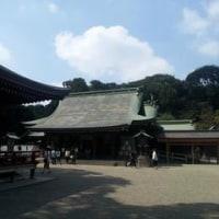 「武蔵一宮 氷川神社」!