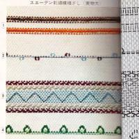 古ーいスエーデン刺繍の本が出て来ました