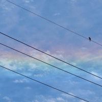 虹色の空-環水平アーク