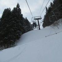 スキーに行った