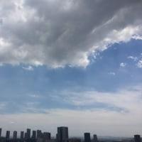 5/27の昼の空