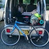 自転車通勤(12.35キロ走りました。)