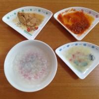 今日の離乳食(1回目)【50日目】